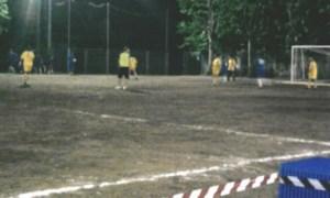 Torneo di calcio a Ossona: calciando sotto la pioggia