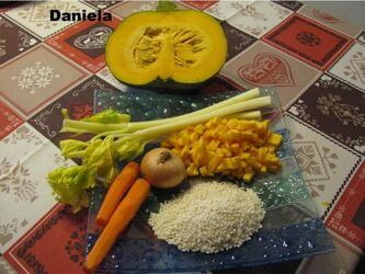 La ricetta del Ris e Succa Barucca (riso con la zucca gialla)
