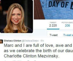 Chelsea Clinton diventa mamma e Hillary diventa nonna