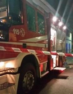 Cuggiono, prende fuoco un altro Autobus della Movibus (foto Christian e Manuel)