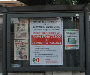 Il Pd di Pregnana vuol bene a Renzi, ma preferisce il papa