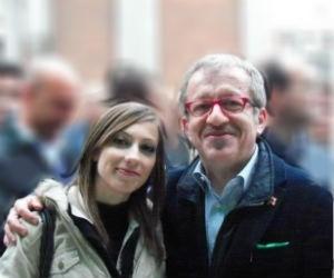 A Magenta il segretario della Lega Nord è una giovane donna