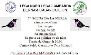 A cena con la Merla tra Cuggiono e Bernate - Casate