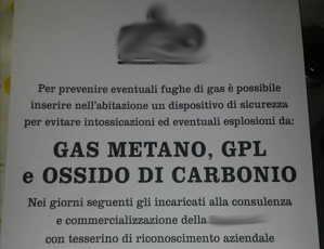 Il rilevatore di gas e monossido proposto è troppo costoso