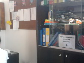 A Ossona c'è il defibrillatore. E' alla palestra Pertini