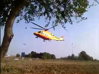 elicottero Moto sotto camion ad Arluno. Bimbo ferito, lo zio in coma Piazza Litta Prima Pagina
