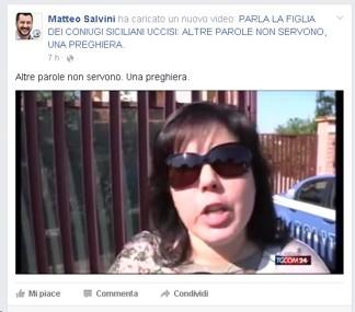 Matteo Salvini commenta i fatti dell'ivoriano in Sicilia