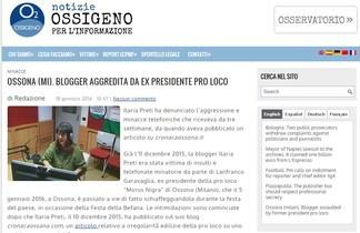 ossigeno informazione sui blogger