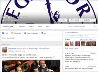 diamo il benvenuto su facebook alla lega nord ossona