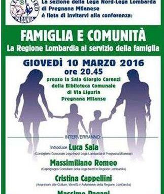 conferenza famiglia e comunità