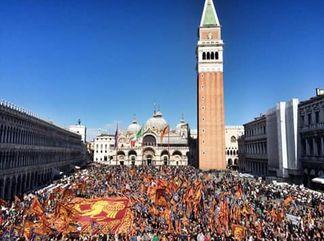 25 aprile San Marco a Venezia