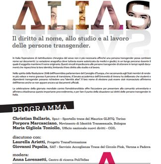 progetto gender alias