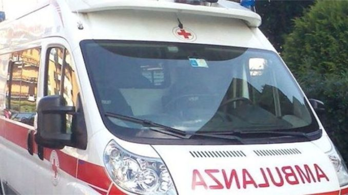 ambulanza repertorio. cani aggrediscono donna