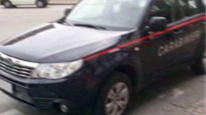 refurtiva recuperata e zingari arrestati dai carabinieri