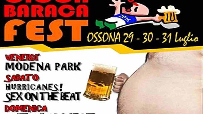 cioca & baraca ossona 2016
