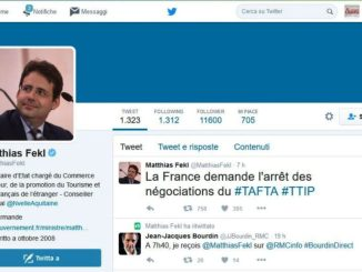 mathias TTIP news. E' fallito. Forse si, forse no, ma la Francia se ne va Politica Prima Pagina