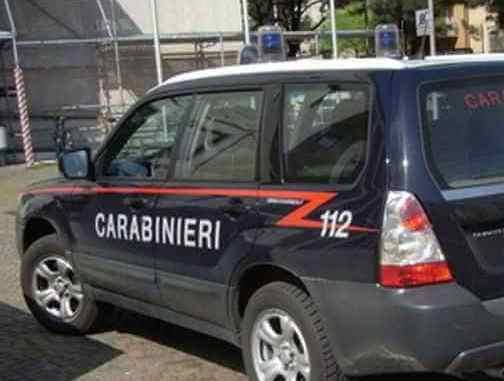 carabinieri auto furti in villa