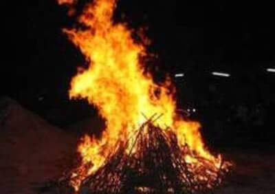 fuoco in piazza litta