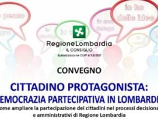 lunedì Appuntamento con la democrazia partecipativa in Lombardia Eventi Prima Pagina