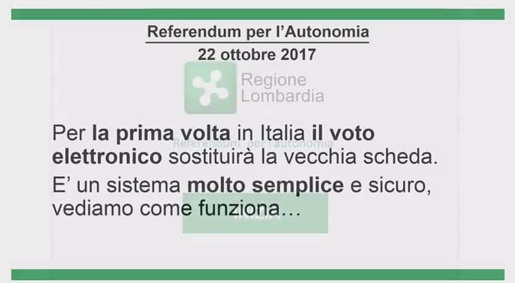 referendum Referendum Lombardia. Grazie a Sergio Garavaglia Politica Prima Pagina
