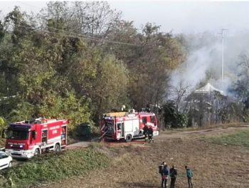 incendio-350x264 Incendio questo pomeriggio sulla ferrovia Senza categoria