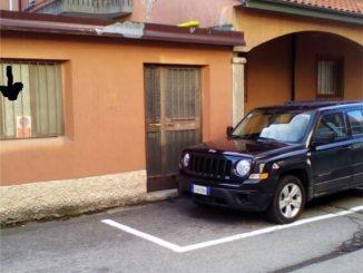 parcheggi in vicolo Brasca a Ossona