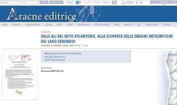 mito atlantideo  Antonia Bertocchi