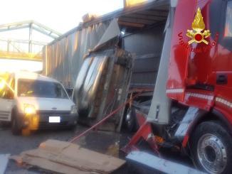 IMG-20190430-WA0007 750 litri di gasolio in autostrada Cronaca Milano Prima Pagina