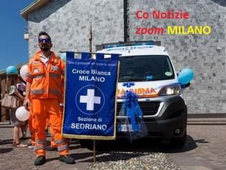 croce-bianca-sedriano-2 Una nuova ambulanza per la Croce Bianca di Sedriano Sedriano