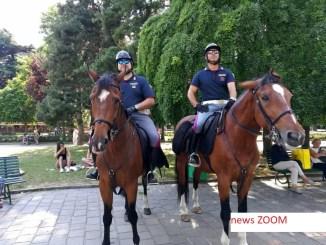 Poliziotti-a-Cavallo-ZOOM Polizia a cavallo, arrestano ricercato al parco Martesana Cronaca Milano Gorla