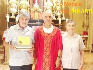 san-cristoforino-doro-1 Ossona: San Cristoforino d'oro 2019 ai sagrestani Antonio Baratè e Teresina Garavaglia Cronaca Altomilanese