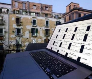 Napoli, domani proiezioni canto satirico Leopardi su palazzo dove visse