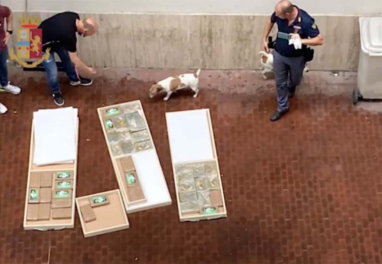Napoli, colpo ai narcos: sequestrati 46 chilogrammi di cocaina