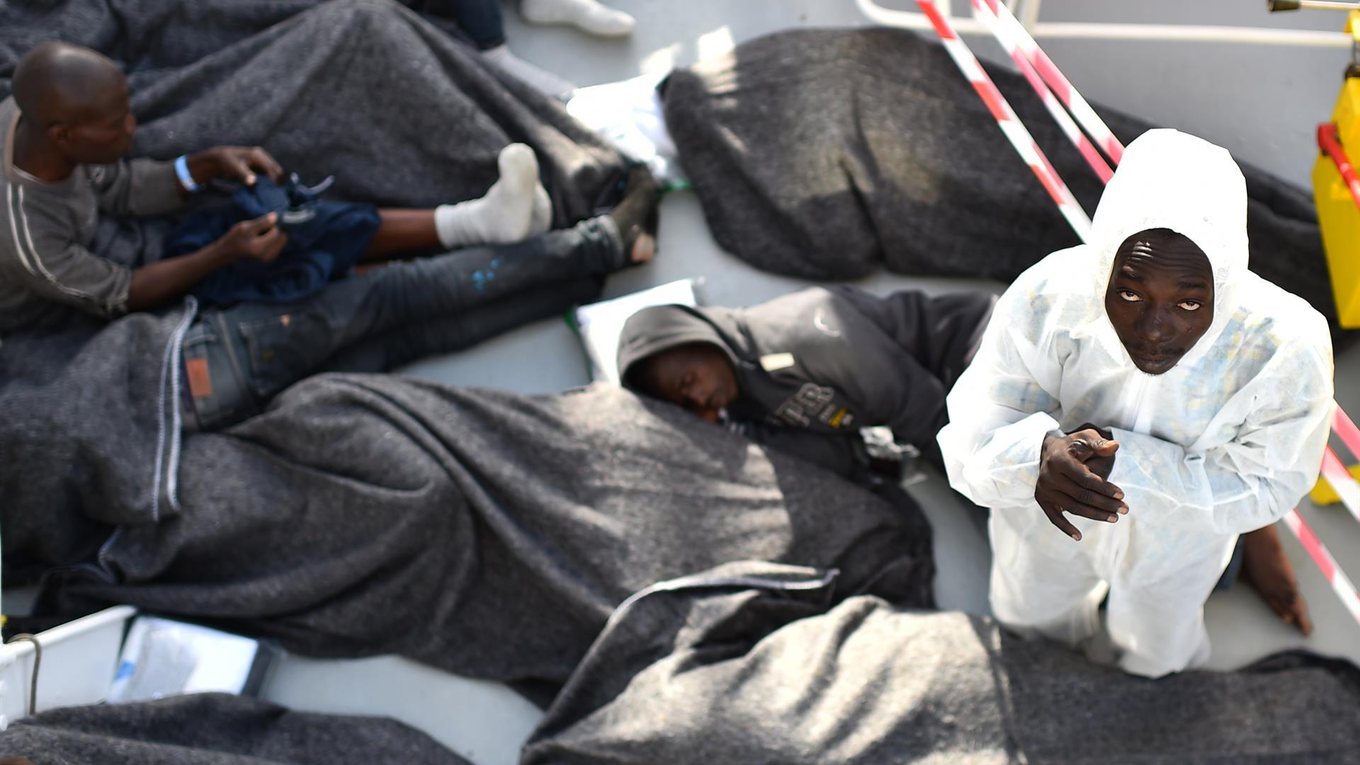 migranti rifugiati italia