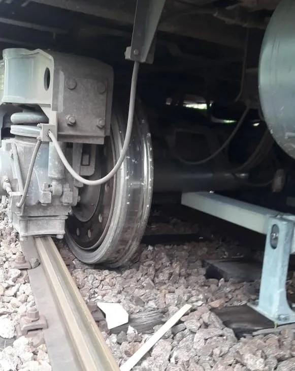 Train derailed meters from the Terminal de Tigre | Chronicle