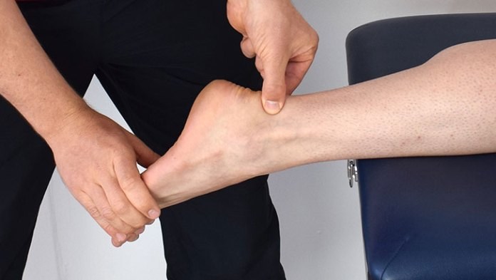 Why do the ankle sprains hurt months after injury?