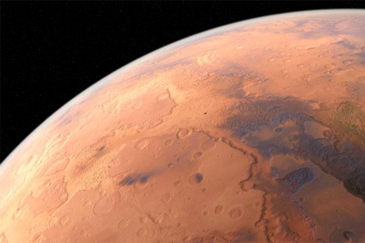 NASA revela lago en Marte a traves del Curiosity