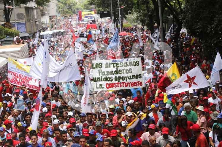 Sector Alimentación se moviliza para apoyar Constituyente