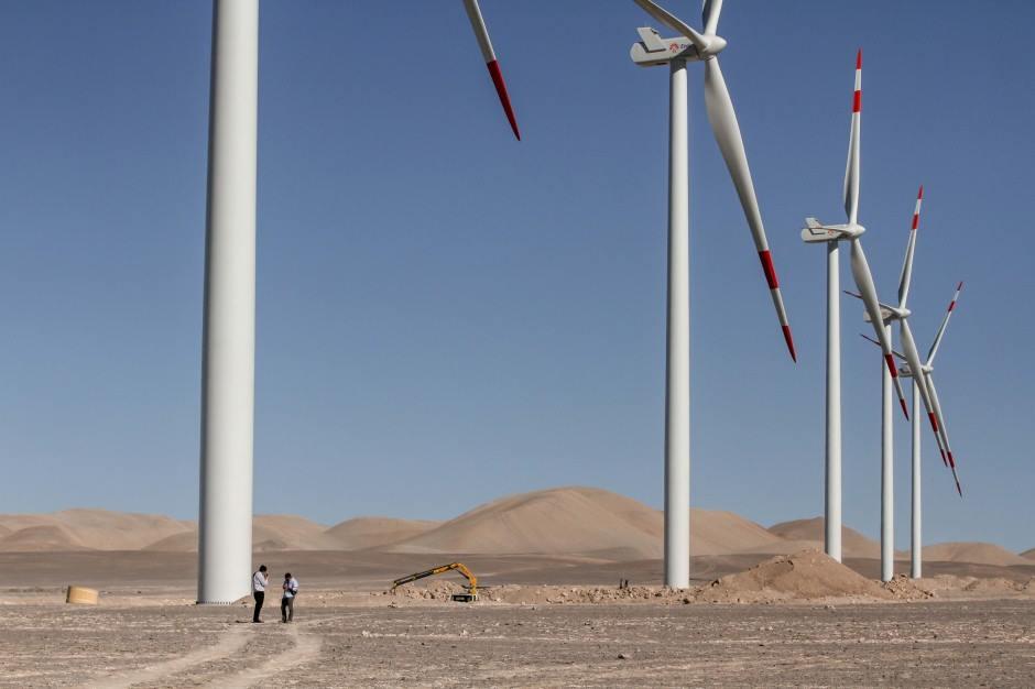 Chile tendrá Parque Eólico más grande de Latinoamérica (+Audio)