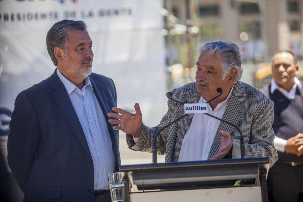 José Mujica participará en el cierre de campaña de Alejandro Guillier