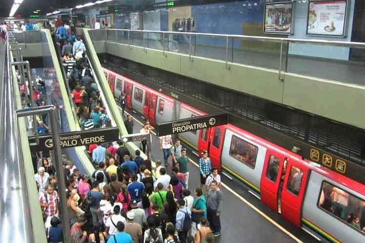 Carlos Osorio desmintió protesta de trabajadores del Metro de Caracas