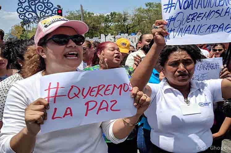 Resultado de imagen para DIALOGO POR LA PAZ NICARAGUA