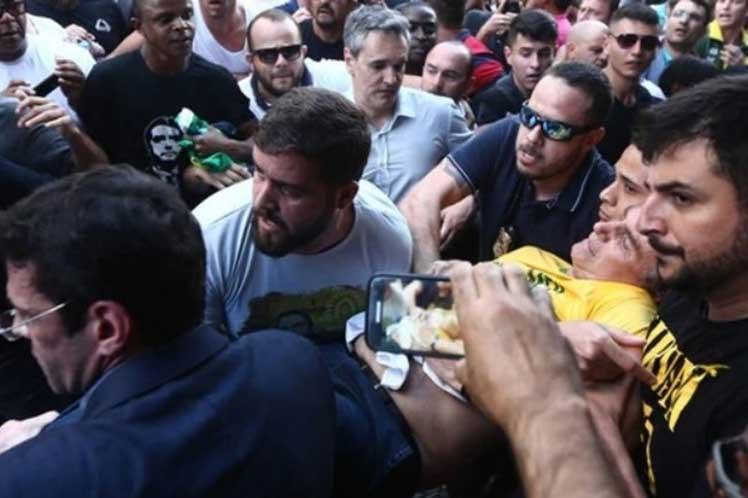 Brasil: Candidato ultraderechista apuñalado en acto de campaña