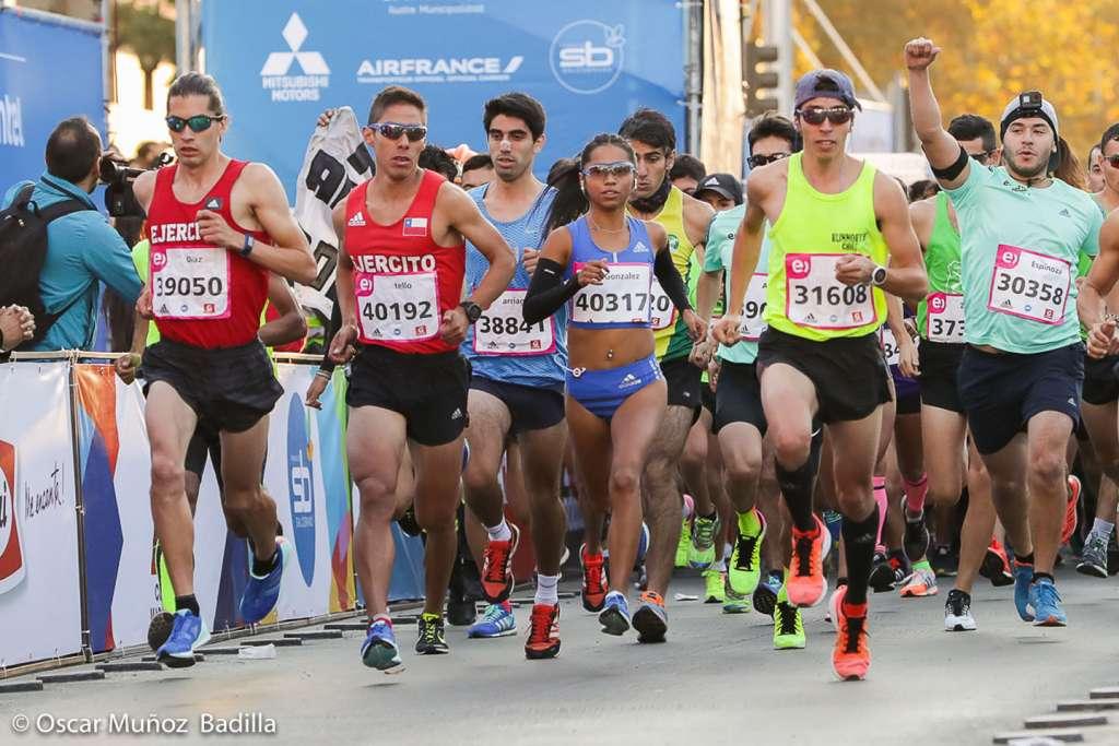 Resultado de imagen para maraton de santiago 2019