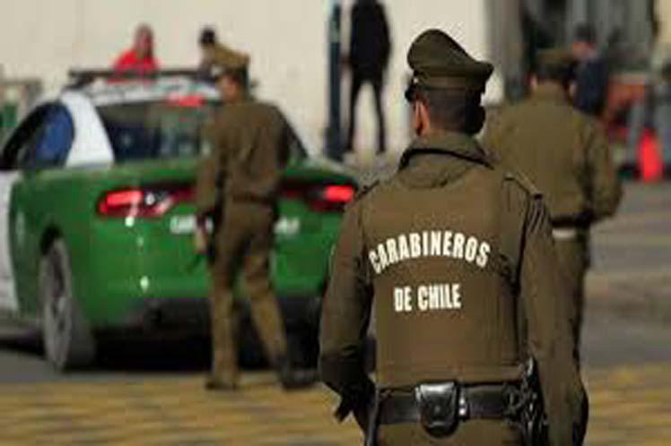 Carabinero infiltrado en Lo Hermida. Allanamiento y represión brutal