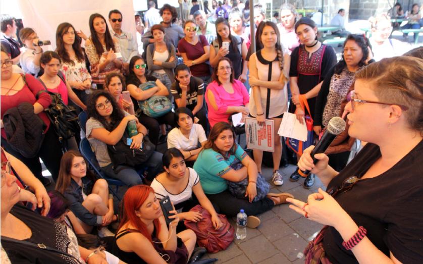 Protestan ante la desigualdad | La Crónica de Hoy - Jalisco