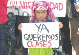 Escuelas siguen en paro por conflicto wixárika | La Crónica de Hoy - Jalisco