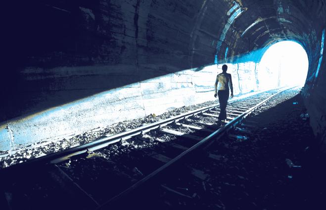 luz al final del tunel