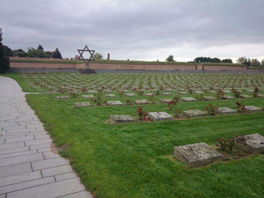 Campo de Concentración Terezin. Cementerio Terezin Memorial.Praga