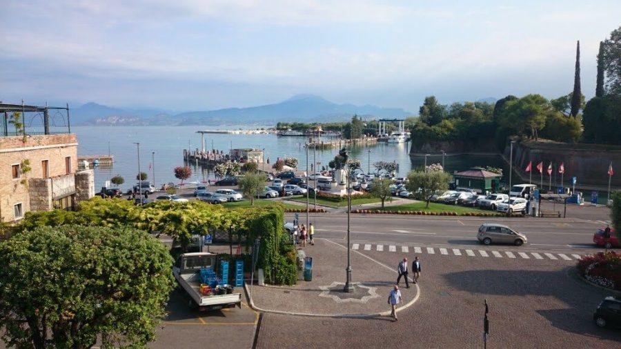 Qué ver en el Lago di Garda. Vistas desde la fortaleza. Peschiera, Sirmione y Desenzano.